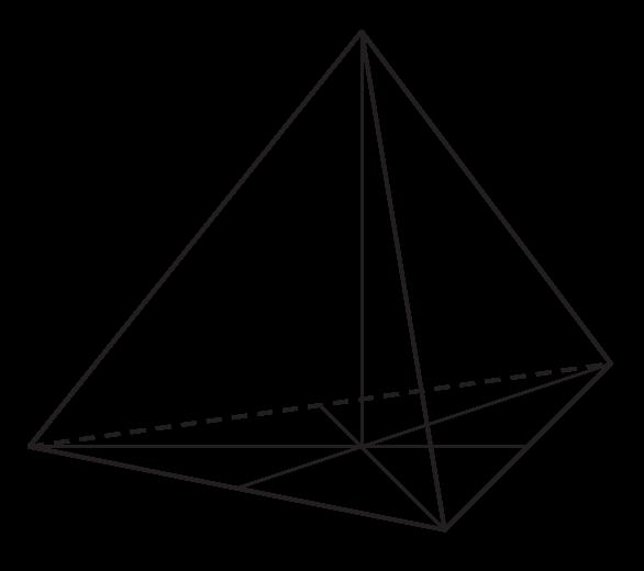 trójkąt równoboczny ABC jest podstawą ostrosłupa prawidłowego ABCS