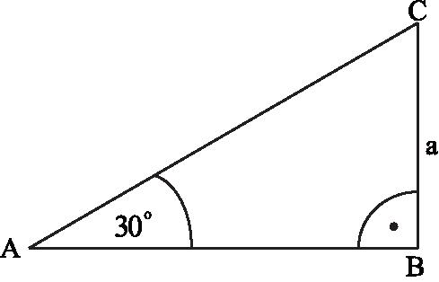 obwód trójkąta przedstawionego na rysunku jest równy