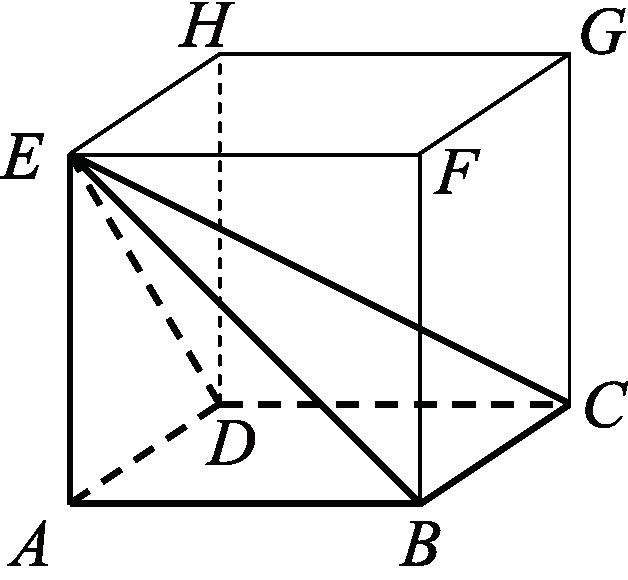 dany jest sześcian ABCDEFGH siatką ostrosłupa czworokątnego