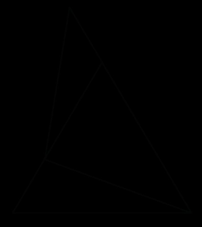 trójkąt ABC przedstawiony na poniższym rysunku jest równoboczny