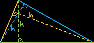 wysokość trójkąta