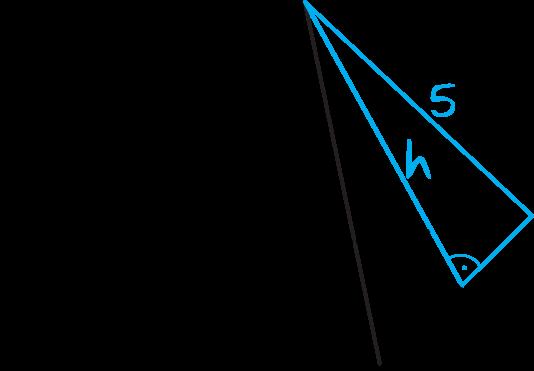pole powierzchni całkowitej ostrosłupa