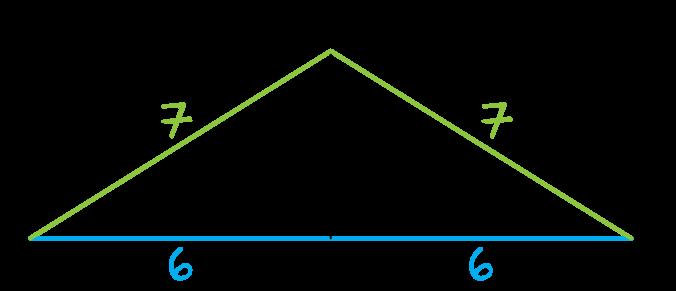 w trójkącie równoramiennym ABC dane jest