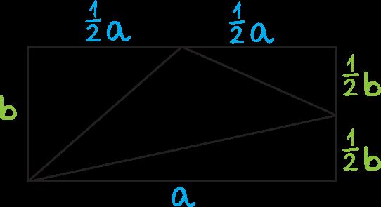 w prostokącie ABCD punkt P jest środkiem boku BC