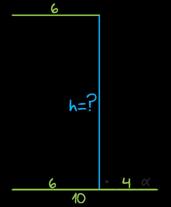podstawy trapezu prostokątnego mają długości 6 i 10