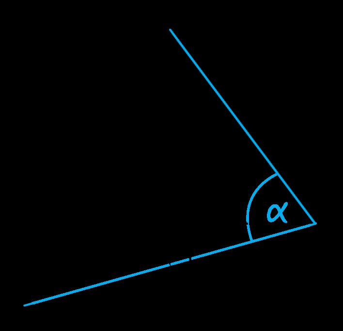 kątem między krawędzią CS a płaszczyzną podstawy tego ostrosłupa jest kąt