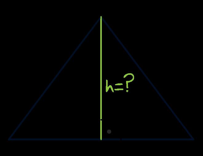 podstawa trójkąta równoramiennego ma długość 6