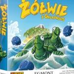 żółwie z galapagos gra planszowa egmont