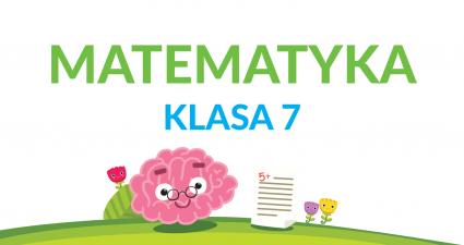 matematyka klasa 7